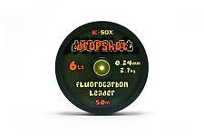 Drennan E-sox Dropshot Fluorocarbon Leader 50m 10lb