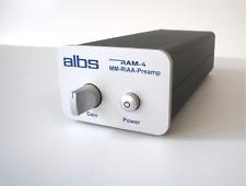 ALBS ram-4 mm-RIAA-Preamp, MM, entzerrervorverstärker, phonovorverstärker, RIAA