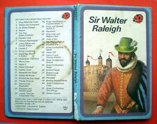 Sir Walter Raleigh Ladybird vintage book British history Queen Elizabeth royalty