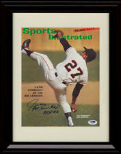 Framed Juan Marichal Sports Illustrated Autograph Print San Francisco Giants
