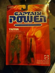 """TRITOR CAPTAIN POWER SOLDIERS OF THE FUTURE MATTEL 4"""" FIGURE"""