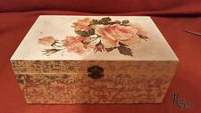 Rose memory box keepsake