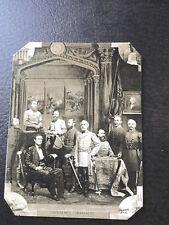 Civil War Major General's Confederate Commanders tintype C972RP