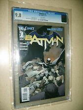 Batman #1 CGC 9.8 NM/MT First Print The New 52 (DC Comics) Snyder Capullo