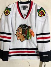 Reebok Women's Premier NHL Jersey Chicago Blackhawks Team White sz S