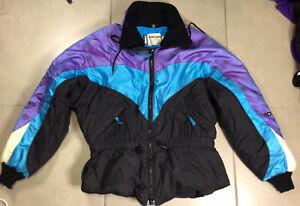 VTG Women's POLARIS Winter Sz M Coat 90s THERMOloft Insulated Jacket Iridescent