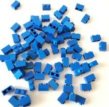 LEGO 80X BRICK 1X2 BLU MISTI LOTTO SET KG MATTONCINI SPED GRATIS SU + ACQUISTI