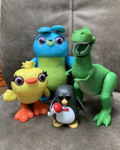 Disney Pixar Toy Story Figure Bundle Wheezy - Ducky - Bunny - Rex