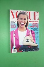 VOGUE JANUARY 1994 COVER NIKI TAYLOR LIAM NEESON DOLLY PARTON CLAUDIA SCHIFFER