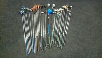 Joblot Golf Clubs x 32 Drivers/ Woods/ Putters/ Shafts *FREE UK POSTAGE*