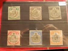 (3878) TANGANYIKA HIGH VALUES 1927-31 USED & MOUNTED MINT