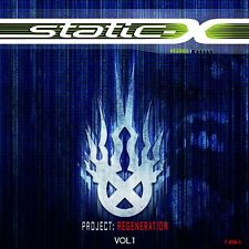 Project Regeneration Volume 1 Static-X  Audio CD Metal Discs: 1 NEW