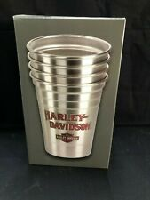 Harley Davidson Stainless Steel Party Cup Set