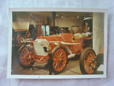 Vintage Color Photo 1900s RED Mercedes Car at Smithsonian 795