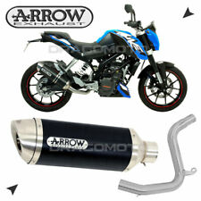 KTM DUKE 125 2011 2012 Impianto completo ARROW THUNDER ALU Nero