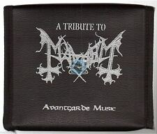 A TRIBUTE TO MAYHEM leather case no poster CD ALBUM immortal vader emperor