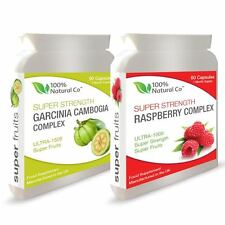 DOUBLE VALUE PACK - Raspberry Ketones and Garcinia Cambogia