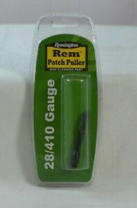 NEW REMINGTON REM PATCH PULLER 28/410 GAUGE MUZZLE LOADER CLEANING PART 19008