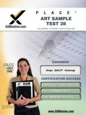 Place Art Sample Test 28 Teacher Certification Test Prep Study Guide (Paperback