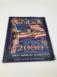 St Louis Fair Air Show Riverfront Magazine 2000 Program