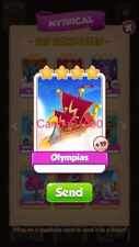 X1 Olympias Coin Master trading card !!!Super Fast Dispatch!!!
