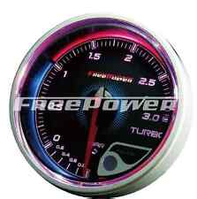 VW 2.0TDI use Plug&Play Turbo/Boost Gauge/Meter BAR 60mm FREEPOWER Performance