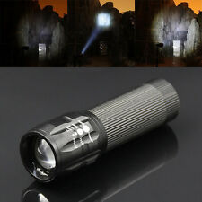 Newly LED Flashlight 500 Lumens Light Zoom Adjustable Focus Torch 3 Modes Gift