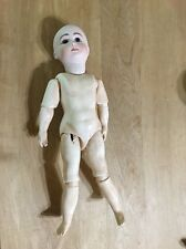 A14T Reproduction Antique Doll-nude-needs Wig