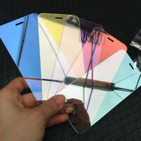 3D Mirror Effect 9H Screen Protector Temper Glass Film For iPhone 5/6/7/8/X Plus
