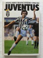 ANNUARIO BIANCONERO JUVENTUS 1983-1984 83-84 MICHEL PLATINI TRAPATTONI