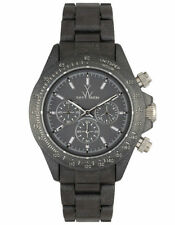 NWT ~ ToyWatch FLP08BK Plasteramic Fluo Pearly Chronograph Watch $255