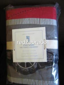 Pottery Barn Kids Star Wars The Force Awakens Euro Quilted Sham NEW (Last one)
