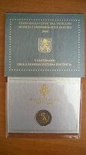 Coffret BU 2 Euro Vatican 2006 Commémo Guardia Svizzera Pontificia Vaticano Neuf