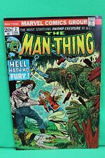 The Man-Thing #2 Swamp Creature Marvel Comics Comic F/VF Condition