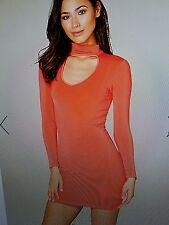 bebe choker dress m.  #754