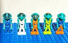 LEGO LoM Martian Minifigure Lot Life on Mars Blue Centauri Antares Alien Space