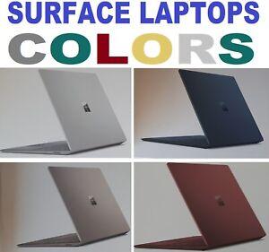 MICROSOFT SURFACE LAPTOP Intel i5 or i7 8GB 256GB SSD BYOD COBALT GOLD BURGUNDY