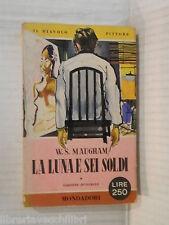 LA LUNA E SEI SOLDI W S Maugham Mondadori I libri del Pavone 80 1956 romanzo di