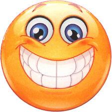 Big Grin Emoji Golf Ball Marker - package of 2