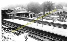 Radlett Railway Station Photo. Elstree - Napsbury. Mill Hill to St. Albans. (2)