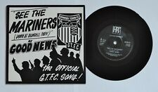 Rare 1985 Grimsby Town FC  'See The Mariners' .7 inch vinyl Record. EX: