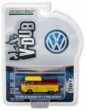 1:64 GreenLight *CLUB V-DUB R4* SHELL OIL 1976 VW T2 Double Cab Pickup NIP!