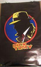 Poster Dick Tracy Logo 1989 Vintage Rare Original Warren Beatty Breathless