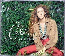 CELINE DION - LIVE (FOR THE ONE I LOVE) - CD SINGOLO 3 TRACKS NUOVO SIGILLATO