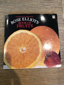 Book of Fruits Recipe Book by Rose Elliot (Paperback, 1983)