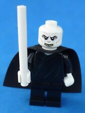 LEGO HARRY POTTER  MINIFIGURE VOLDEMORT W/CAPE & WAND