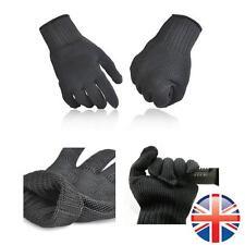 *UK Seller* Slash Proof Resistant Gloves Builders Mechanic Safety Cut Protect