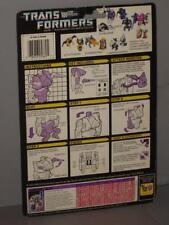 G1 Transformer Abominus Blot Cardback Lot # 1