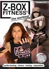 Z-BOX FITNESS THE WORKOUT DVD CARDIO BOXING DANCE TOINING RELAXATION KICKBOXING