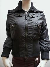 PSYCHO COWBOY WOMENS BLACK PADDED COAT    (M)    £70     BNWT